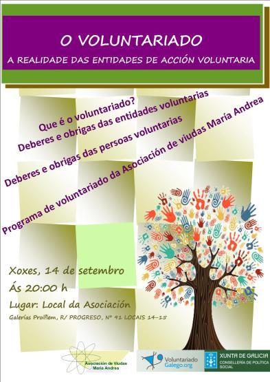 Cartaz xornada voluntariado