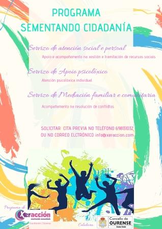 Cartaz Sementando cidadanía