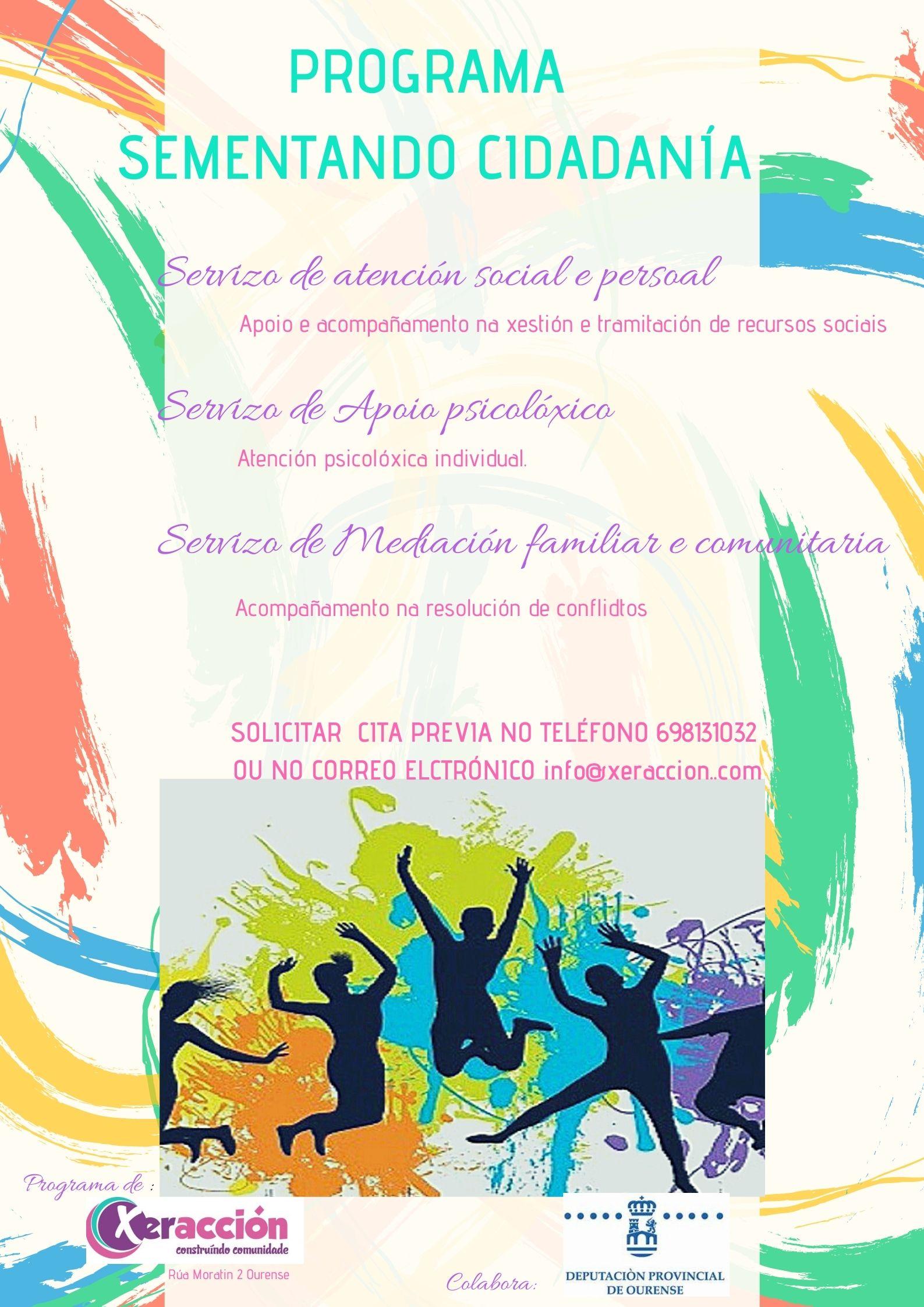 Cartaz Sementando cidadanía 2020 Dipu
