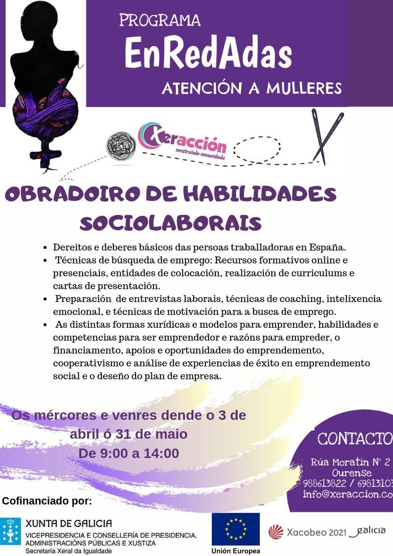 Cartaz Obradorio EnRedAdas